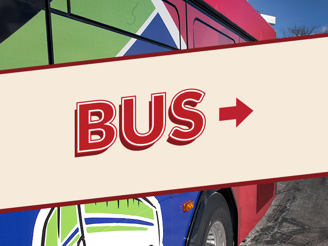 Bus Text Banner